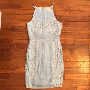 Light blue lace dress from Gianni Bini